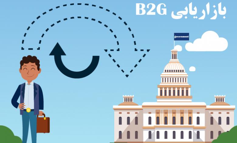 تصویر از استراتژی های مختلف در بازاریابی B2G