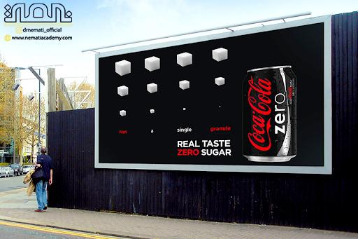 تبلیغ بیلبوردی کوکاکولا