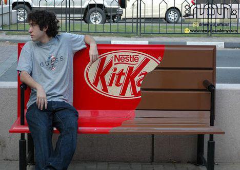 urban furniture advertising