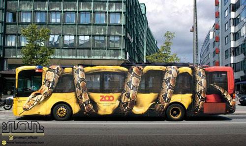 تبلیغات محیطی بستر وسایل نقلیه